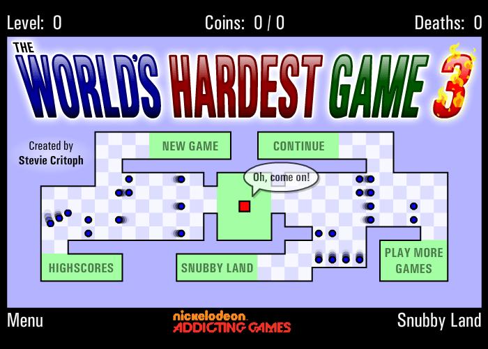 el juego mas dificil del mundo 3