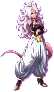 Majin Android 21 game art