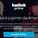 ¿Cómo suscribirse a un canal de Twitch con Amazon Prime?