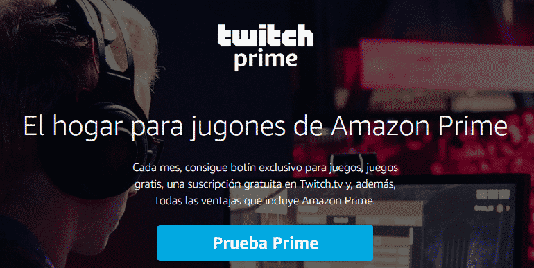 conseguir twitch prime