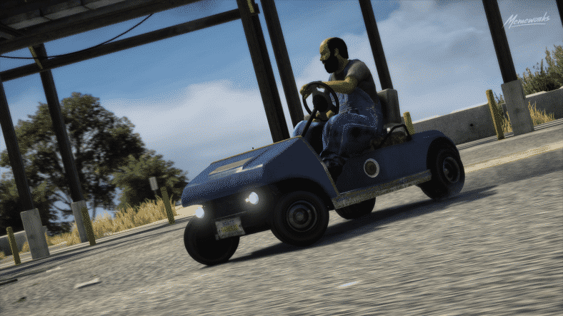 GTA 5 Golf Cart