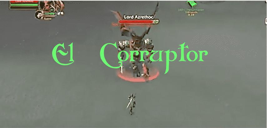 El corruptor - Misión WOW Classic