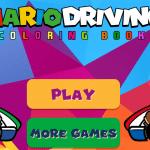 Colorear Mario Kart
